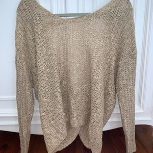 Altar'd State open back twist sweater